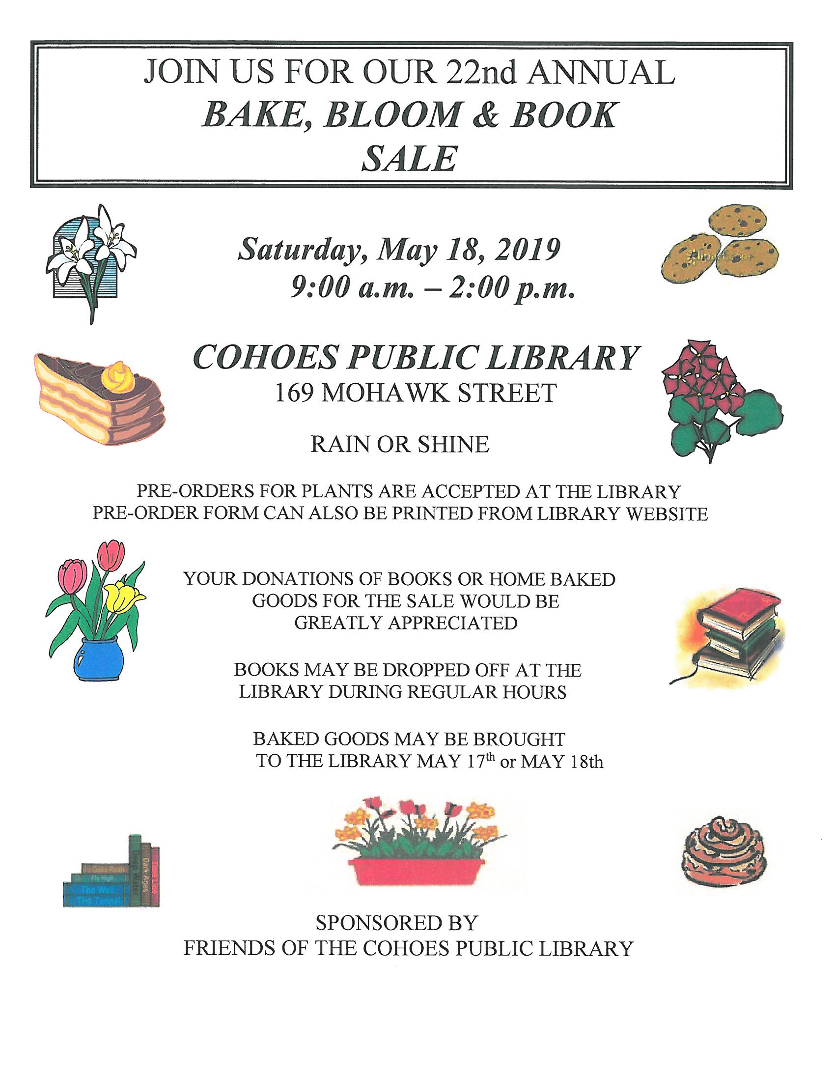 Bake Bloom Book Sale