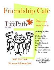 Friendship cafe july