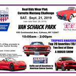 Real Kids Wear Pink Car Show Flyer