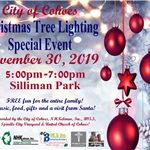 tree lighting ceremony 2019