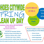Spring Clean Up Day Flyer 2020