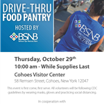 Food Pantry Flyer_Cohoes_October