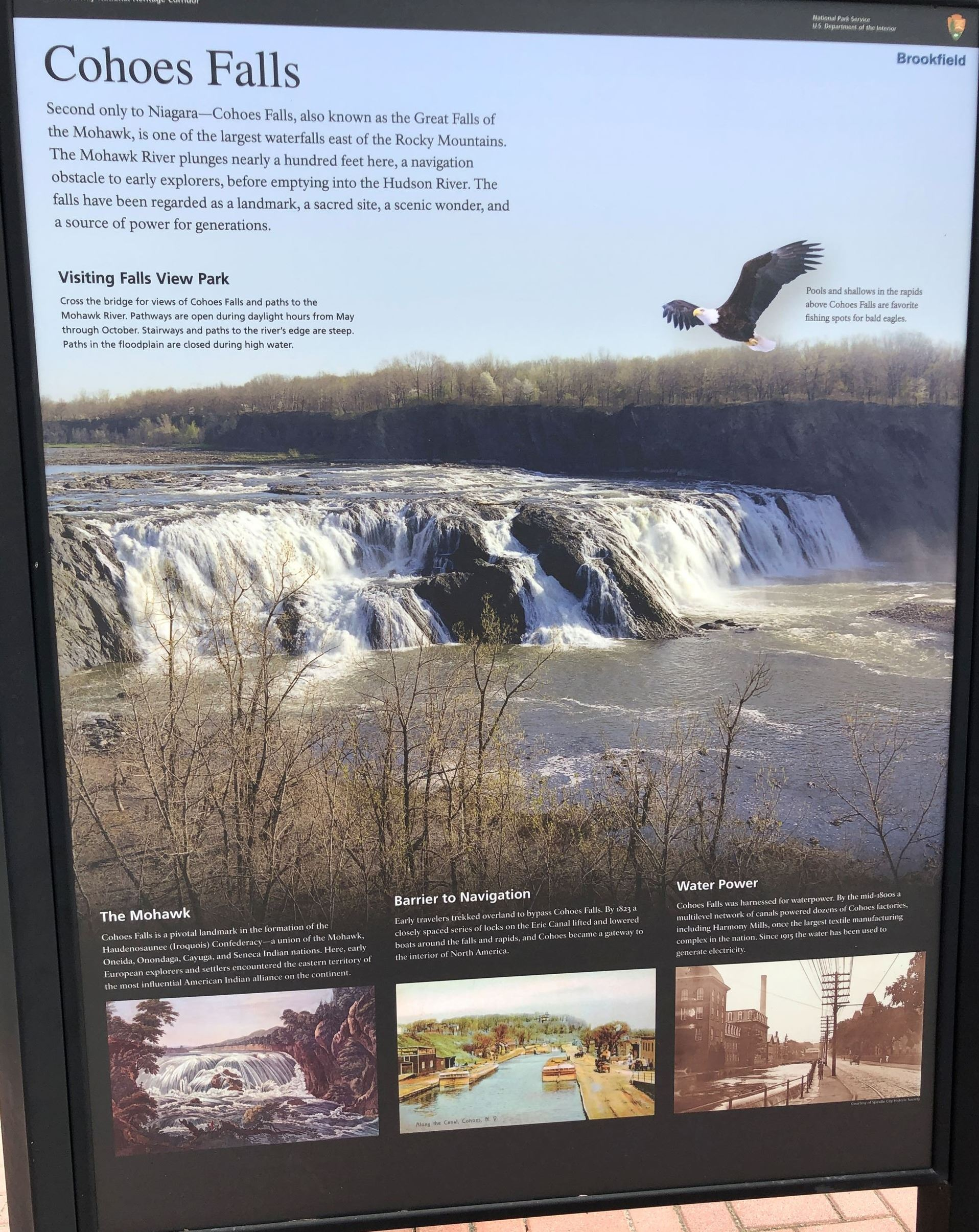 Falls View - IS - Cohoes Falls IMG_9133