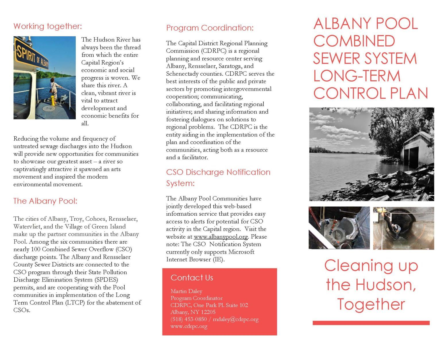 Combined Sewer Overflow Brochure Page 1