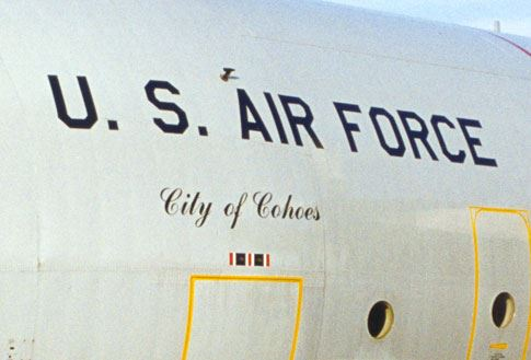 """City of Cohoes"" Airplane"