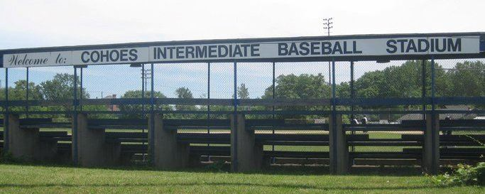 The stadium for the Cohoes Intermediate Baseball League.