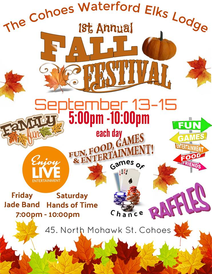 Elks club fall festival