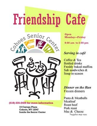 Senior Cafe for Feb.