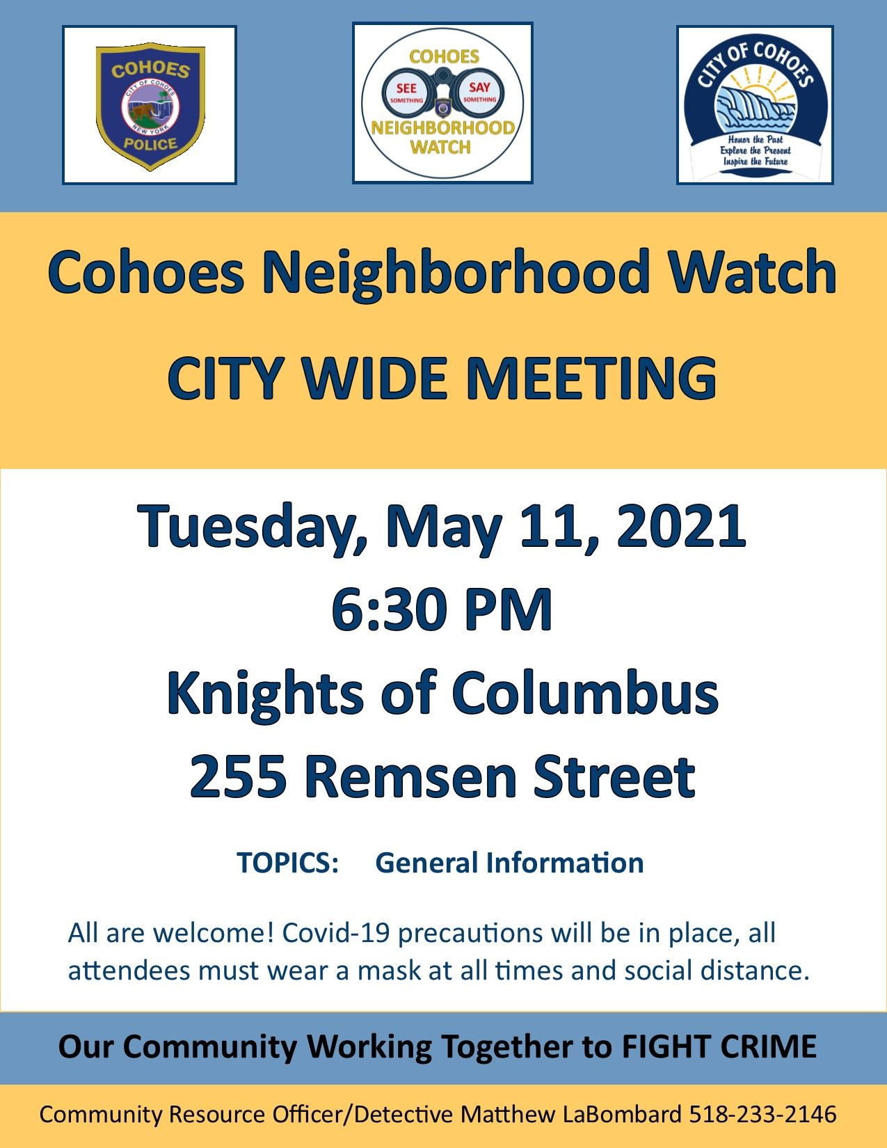 City Wide Meeting Flyer 5-11-21