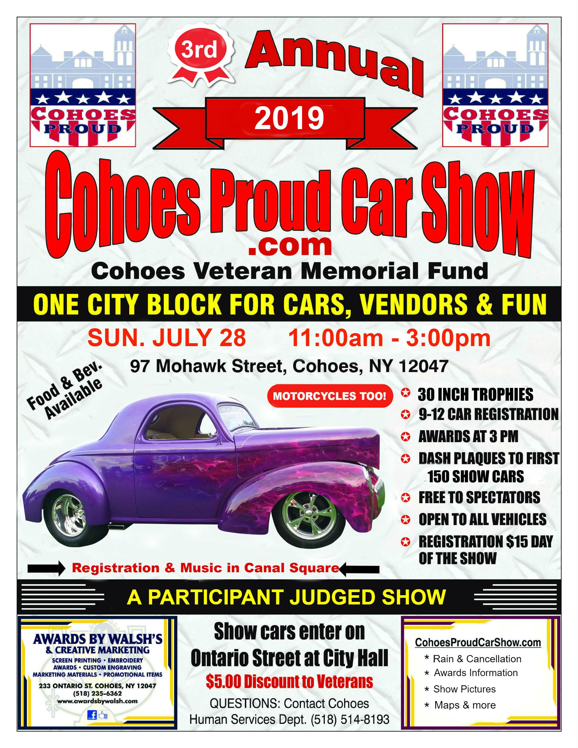 CohoesProudCarShow2019